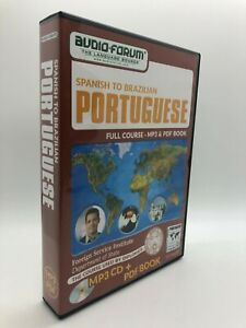 FSI: Spanish to Brazilian Portuguese (PC/MAC) by Audio-Forum