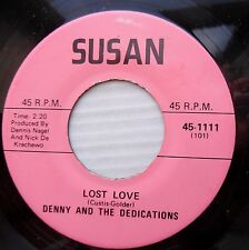 BENNY & DEDICATIONS 70's doowop acappella 45 LOST LOVE I'LL SHOW YOU HOW   FM276
