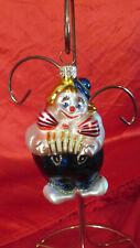 Komozja Glass Clown Christmas Ornament Poland