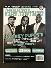 Modern Drummer Magazine September 2016 Searight, Thomas and Lewis