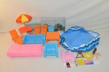 Large Lot Vintage 1970/80s Barbie Other Mattel & Arco Furniture, Accessories