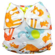 IXYVIA Baby Cloth Diapers Resizable Adjustable Washable Pocket Nappies #4