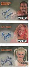 1999 Topps Embossed WCW/NWO Chastity Autograph