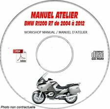 R1200RT 04-12 Manuel Atelier BMW CDROM Revue technique Expédition - --, Support