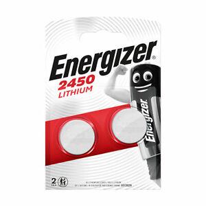 Energizer CR2450 Lithium 3V Coin Cell Battery DL2450 Longest Expiry Multi-Packs
