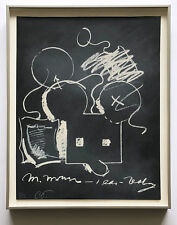 Claes Oldenburg 1973 Hand Signed Numbered Lithograph Ltd. Ed. Framed JKLFA.com