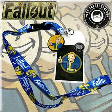 Official Bethesda Fallout Vault Boy Lanyard USA SAME DAY SHIPPING