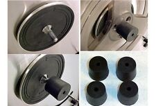 FOR TEAC & OTHER BRANDS - OPEN REEL TO REEL RECORDER SPOOL HOLDER 2-PAIR (4-PCS)