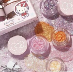 COLOURPOP X HELLO KITTY & FRIENDS GLITERALLY OBSESSED QUAD~SNOW CUTE! SOLD OUT!