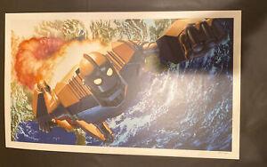 Iron Giant by Alex Ross Poster Mondo Con 1 Exclusive 85/325 Mondocon Print
