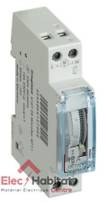 Interrupteur horaire journalier 1 module analogique Legrand 412790