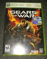 GEARS OF WAR - XBOX 360 - COMPLETE WITH MANUAL - FREE S/H - (PP)