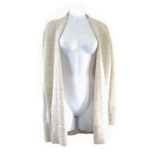 Banana Republic Women's Merino Wool Alpaca Open Cardigan Sweater Size XS Oatmeal