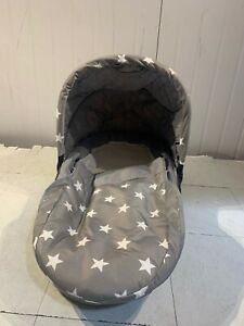 My Babiie MB200 Aldi Exclusive Grey Stars Bassinet