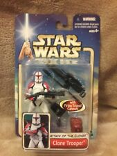Star Wars Attack of the Clones Clone Trooper with firing tripod cannon