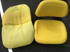 New Milsco AM136044 Yellow Seat fits X Series Fits John Deere Models Seat Cover