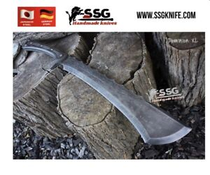 """Custom Forged High Carbon Steel Full Tang hunting,Bowie,  survival knife 18"""""""
