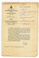 S600-DECRETO POSTALE-FINE USO CARTOLINE E FRANCOBOLLI DI STATO
