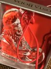 NIB Kosta Boda Sweden Glass #97770 Father Christmas Christmas Ornament B.Vallien