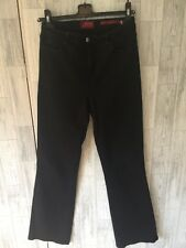 NYDJ Not Your Daughters Jeans Black Stretch Bootcut Jeans Sz8/34*