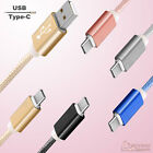 1m / 2m Type C USB-C Data Charging Sync Cable Cord for Huawei P9 P10 Mate 9