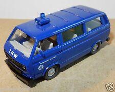 MICRO WIKING HO 1/87 VW KOMBI COMBI MINIBUS T3 THW no BOX