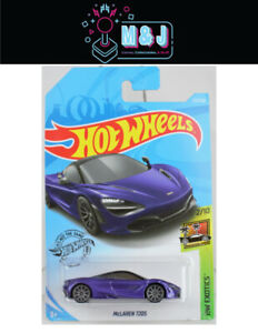 Hot Wheels McLaren 720S Purple HW Exotics 221/250  (Aussie Seller)