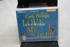 La mayoría de soltero aptos: Love me si te atreves 2 por Carly Phillips (2010, Cd, las Naciones Unidas..