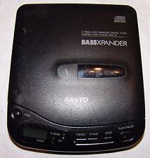 Sanyo BassXpander Cd Player Model Cdp-31 Portable Personal