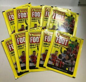 2016 Panini Foot (Mbappe Rookie?) 10 Sealed Packs