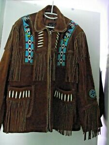 Men's Native  American Style Jacket Size 5XL - Pre owned