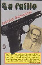 Antonis Samarakis - La Faille - Livre de poche de 1973  - Bon état