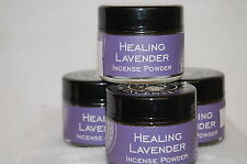 Healing Lavender Traditional Incense Powder, Metaphysical 20 Grams (1) Jar