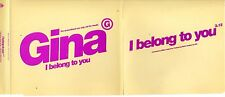Gina G (EUROVISION star !)	I Belong To You Promo 1-track Jewel case	MAXI CD