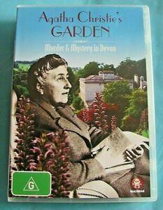 AGATHA CHRISTIE'S GARDEN Murder & Mystery in Devon DVD  All Region see below