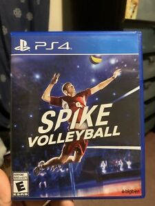 Spike Volleyball PS4 (Sony PlayStation 4) TESTED! AUTHENTIC! FREE SHIPPING!! 🔥