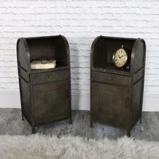 Tables de chevet et rangements noirs placard pour la maison
