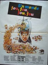 IT'S A MAD MAD MAD MAD WORLD French movie poster SPENCER TRACY JACK DAVIS R71
