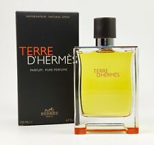HERMES Terre d'Hermes 200ml PARFUM Spray PURE PERFUME NEU/OVP