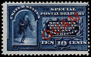 United States - Guam Scott E1 (1899) Mint NG F, CV $150.00 C