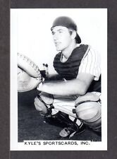 Mike Heath  FTL YANKEES  UNSIGNED  3-1/2 x 5  ORIGINAL B&W SNAPSHOT PHOTO #9