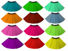 WOMENS LADIES GIRLS ADULT PLUS SIZE NEON TUTU SKIRT 13 COLOURS ALL SIZES PARTY