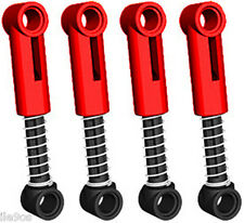 4 Lego Shock Absorbers SOFT spring  (technic,car,truck,suspention,nxt,ev3,robot)