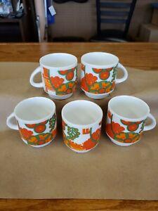 Veritable Italian Porcelain Espresso Coffee Cups