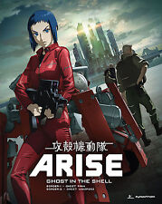 Ghost In The Shell . Arise . Border 1 & 2 . Anime . 2 DVD + 2 Blu-ray . NEU .OVP