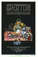 LED ZEPPELIN THE SONG REMAINS THE SAME MOVIE POSTER R2006 Rolled 27x40 N.Mint !