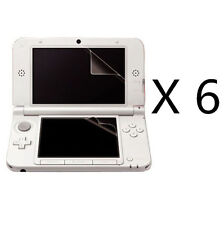 6x Top+Bottom HD Clear LCD Screen Protector Guard Film For Nintendo 3DS XL/ LL