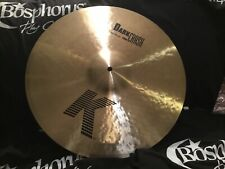 "NEW Zildjian 18"" K Series Dark Thin Crash Cymbal"