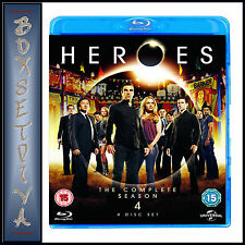 HEROES - COMPLETE SEASON  4  *BRAND NEW BLU-RAY*