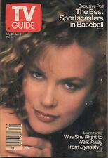 1988 TV Guide July 30-Aug 5 Leann Hunley
